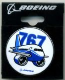 Boeing 767 Pudgy Pin